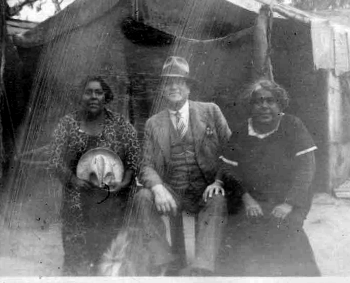 """Australian Blacks"" (caption in family album)"