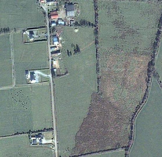 Ballymacdonnell - Google maps satellite image