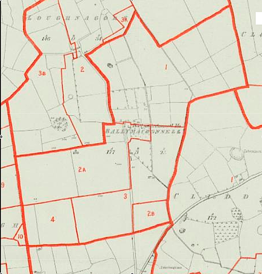 Primary Valuation - Ballymacdonnell - Map