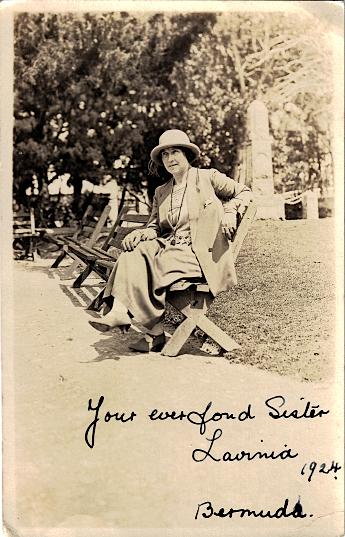 Lavinia Luxton, Bermuda 1924