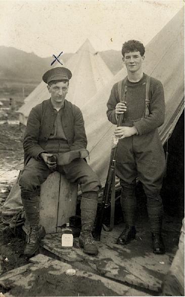 Peter Michael Gaffaney (on left)