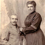 John and Mary Jane Carroll (previously Wright, previously Freeth, formerly Clark), Nov 1917