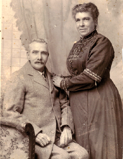 John and Mary Jane Carroll (previously Wright, previously Freeth, formerly Clark), Nov 1917