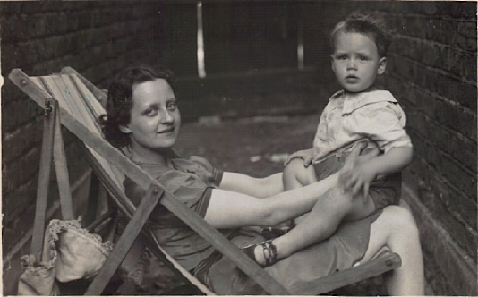 Daphne Luxton and son Terry John