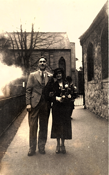 Percy and Daphne Luxton