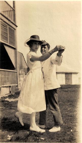 Percy Luxton, Bermuda