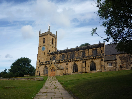 Holy Trinity Church, Rothwell, Yorkshire, August 2011