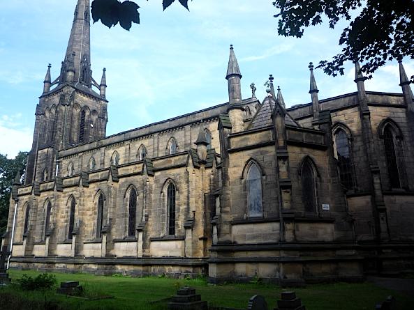 St John the Evangelist's church, Oulton, West Yorkshire, August 2011