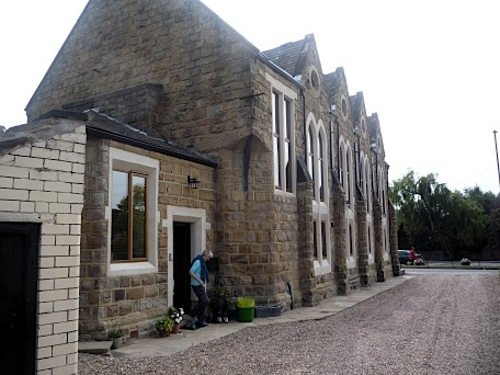 The chapel in Chapel Yard, Oulton, Yorkshire - August 2011