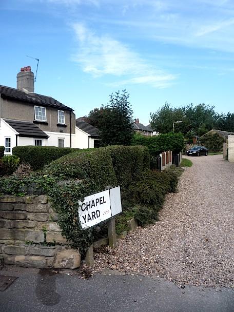 Chapel Yard, Oulton, Yorkshire - August 2011