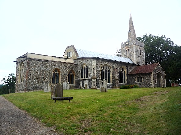 St Mary's Church, Polstead, Suffolk - August 2011