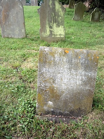 St Mary's church graveyard, Polstead, Suffolk ~ August 2011