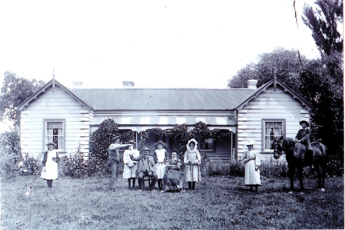 """Belper"", Arowhenua, South Canterbury (late 1800s)"