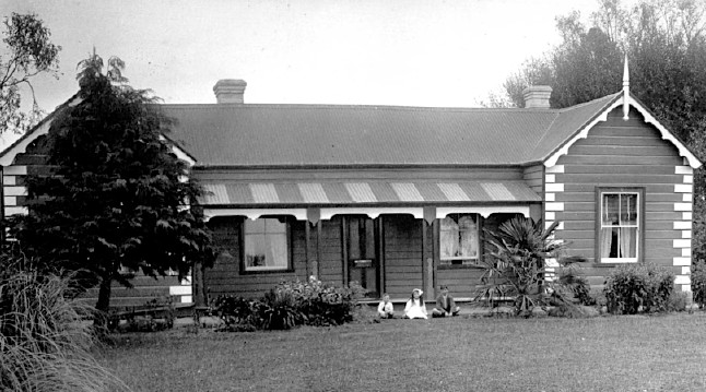 """Belper"", Arowhenua, South Canterbury, NZ, c.1915"