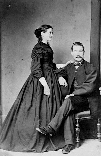 Catherine (Brosnahan) and Francis Gaffaney, Dunedin, NZ