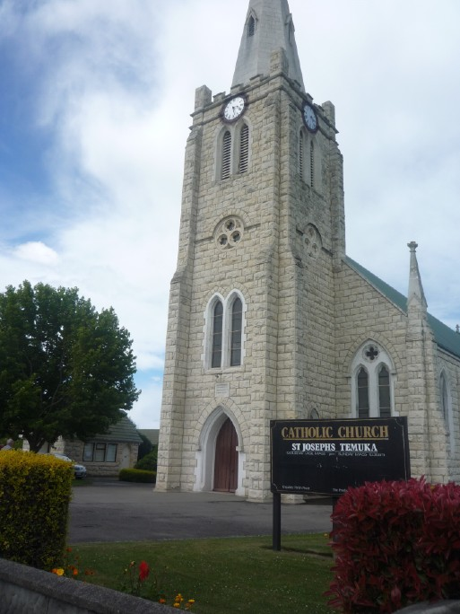 St Joseph's church, Temuka, South Canterbury, NZ ~ January 2012