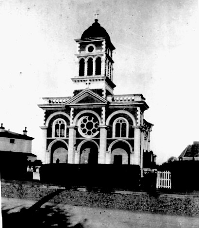 St Patrick's church, Waimate (photo probably taken 1920s)
