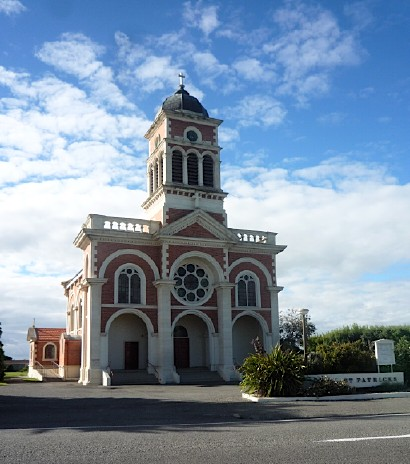 St Patrick's church, Waimate ~ January 2012