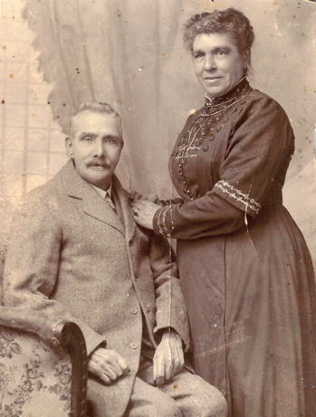 John and Mary Jane Carroll, November 1917