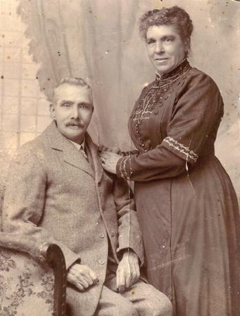 John and Mary Jane Carroll, November 1917