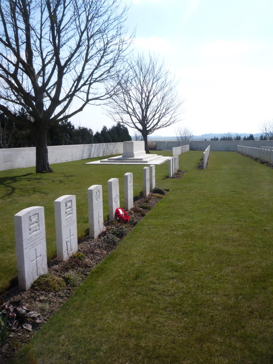 Louvencourt Military Cemetery - April 2013