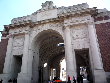 Menin Gate, Ieper/Ypres - April 2013
