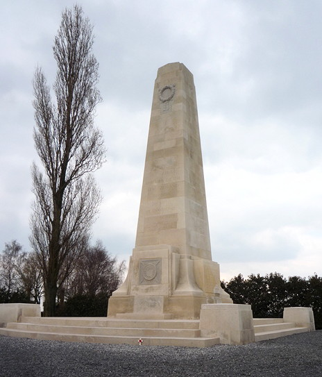 New Zealand Memorial, 's Gravenstafel, Zonnebeke