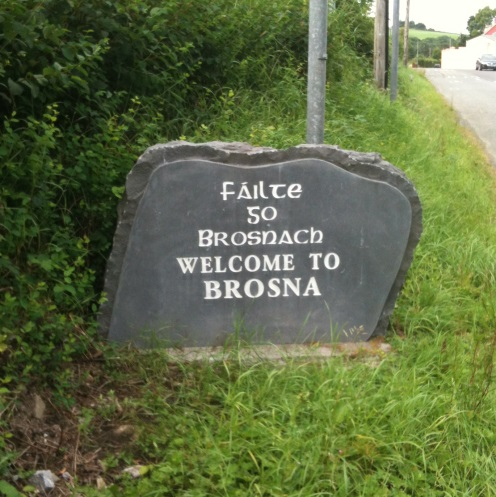 Brosna, ancestral home of the Brosnahans?