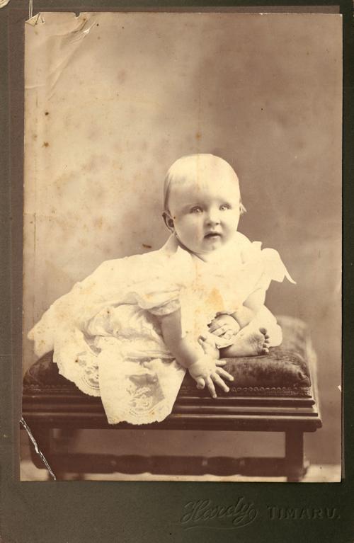 Bellevue Baby, Timaru, 1906