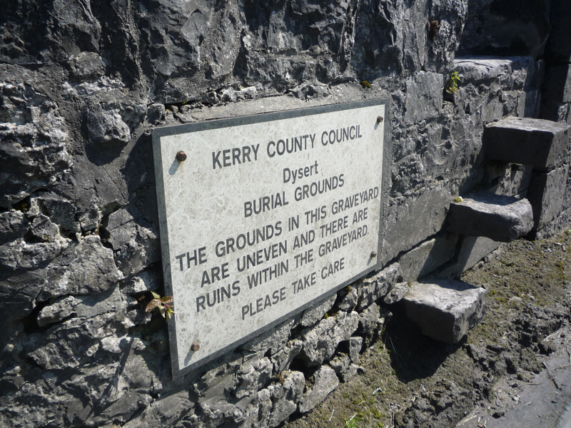 Dysert Burial Ground, near Castleisland, Co Kerry
