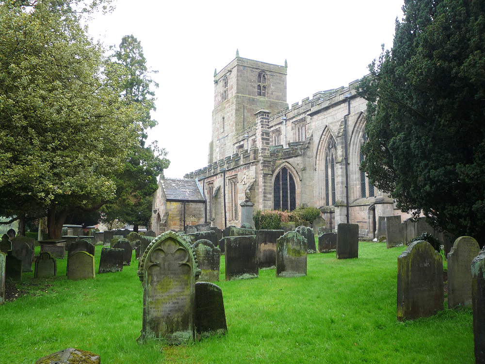St Mary & All Saints Church, Checkley, Staffordshire ~ April 2012