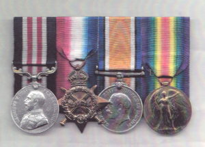 WWI medals of Sgt Peter Michael Gaffaney