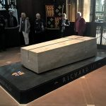 The tomb of Richard III, Leicester Cathedral