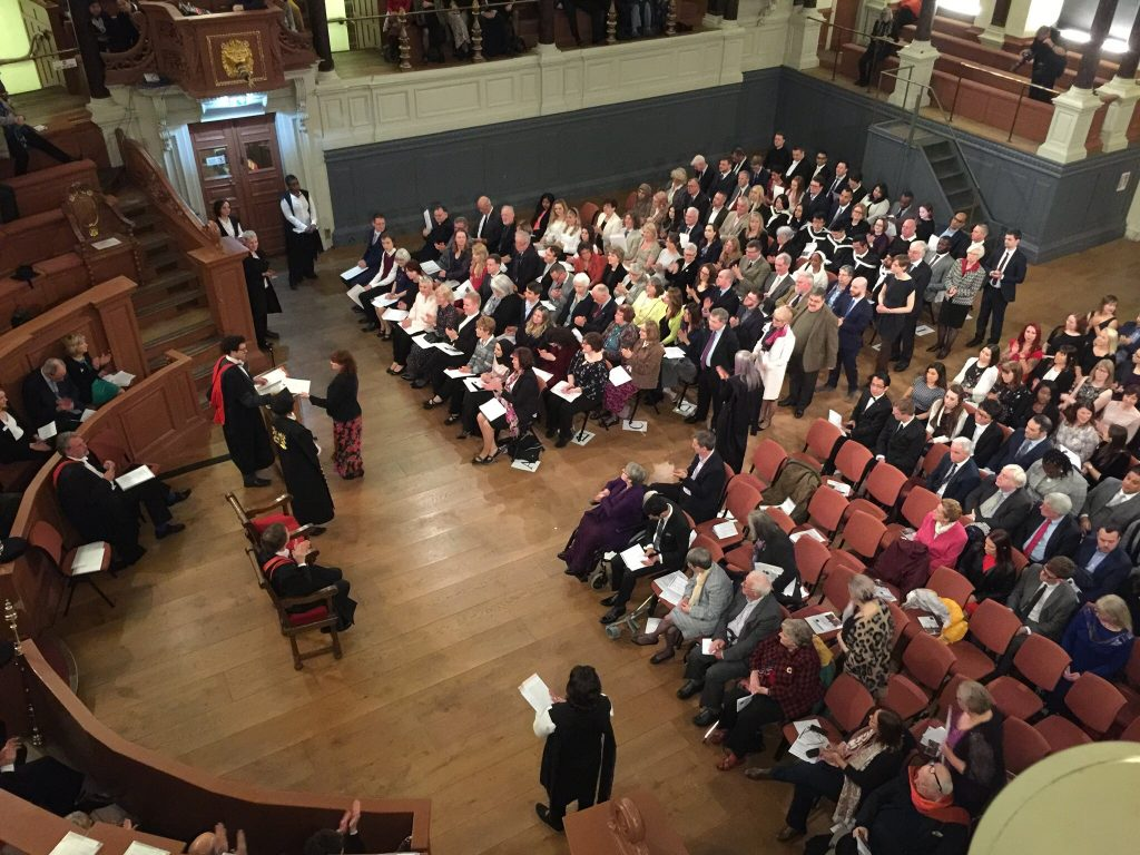 University of Oxford Department for Continuing Education, 2019 Award Ceremony at the Sheldonian Theatre