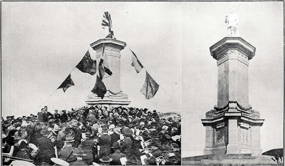 Brooklyn war memorial - unveiling on 22 September 1923