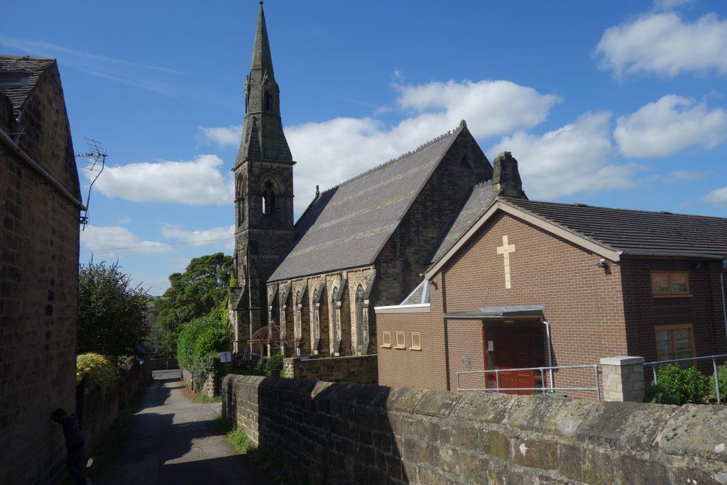 New Congregational church, Belper