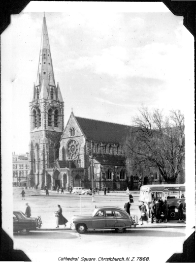 Christchurch Cathedral, Christchurch, New Zealand