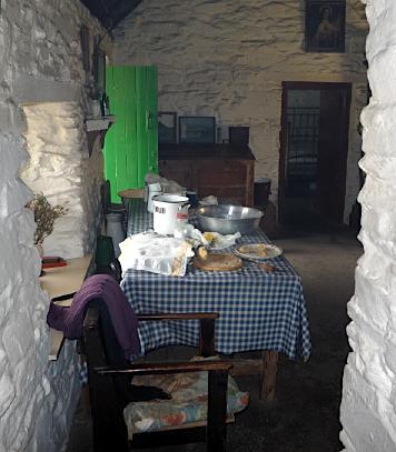 Living area of house, Muckross