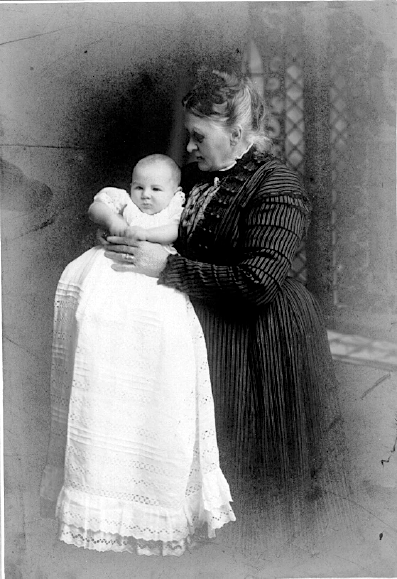 Michael Dominic Gaffaney on his baptism, 1910/11