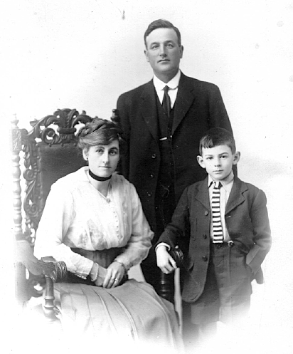 Margaret, Peter and Dominic Gaffaney