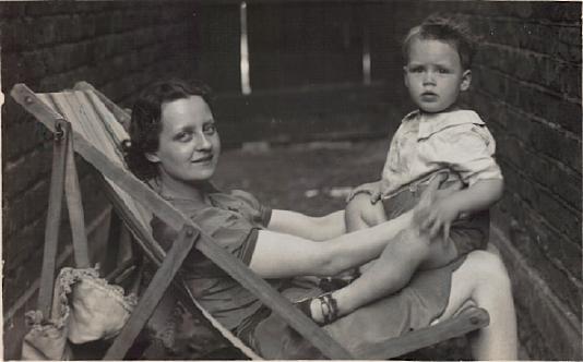 Daphne Luxton and son Terry John