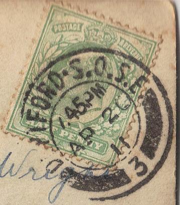 Postmark detail