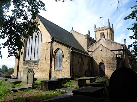 Holy Trinity Church, Rothwell, Yorkshire, August 2011