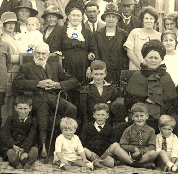 John and Hanorah Brosnahan ~ Temuka, 1925