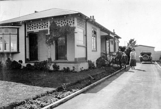 Gaffaney home, Mill Road, Waimate