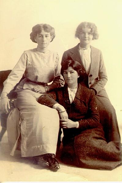 Three woman, c1910