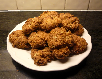 Anzac biscuits - recipe from my Nanna, Jean McGonnell