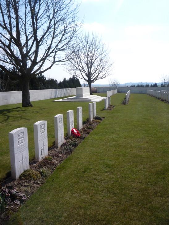 Louvencourt Military Cemetery - April 2013