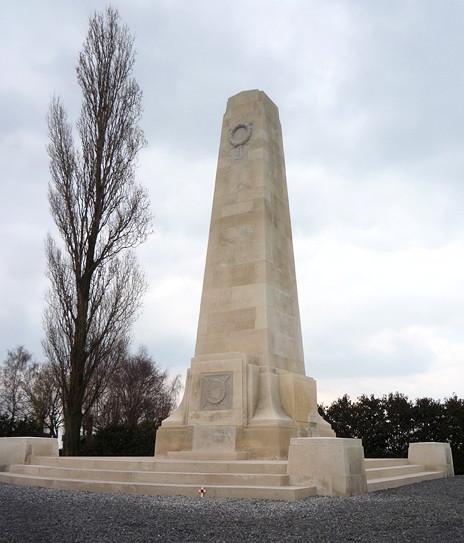 New Zealand Memorial, 's Gravenstafel, Zonnebeke