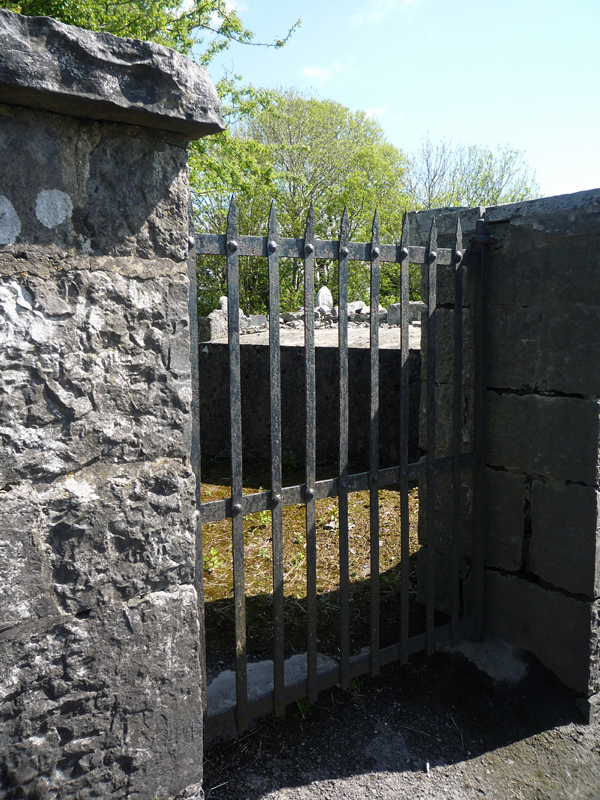 Gate to Dysert Burial Ground, near Castleisland, Co Kerry